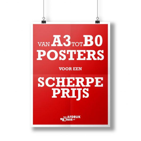 Poster HetAfdrukhuis