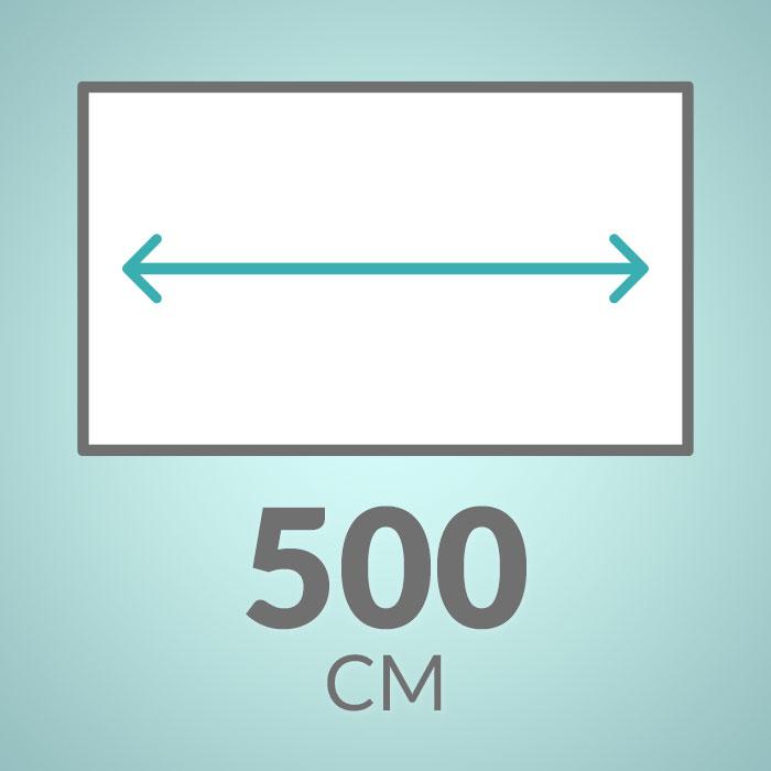 500 cm