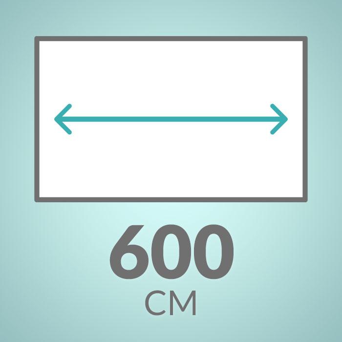 600 cm