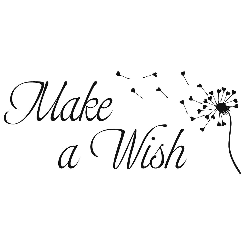 Make-a-wish-zwart
